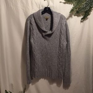 Sonoma heavy thick collar sweater